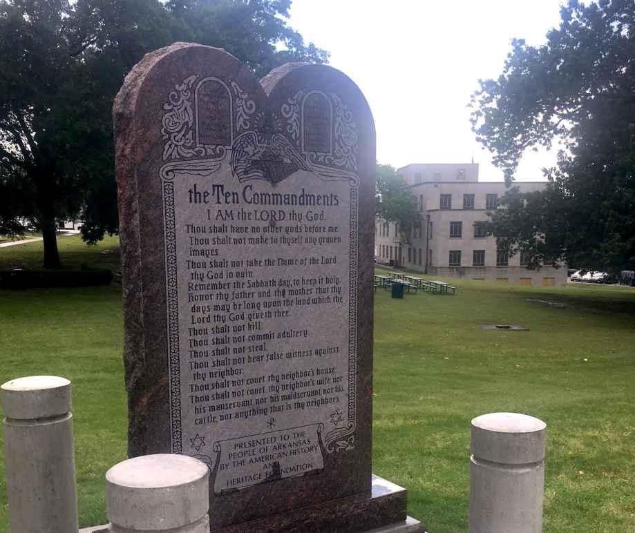 Monument of the Ten Commandments