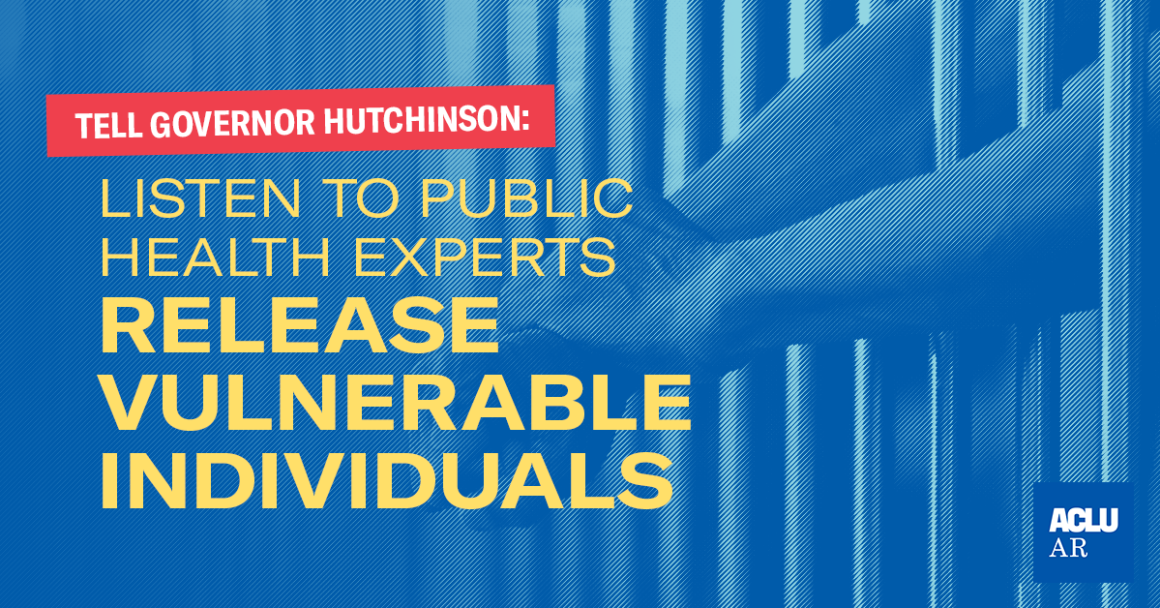 Tell Governor Hutchinson: Listen to Public Health Experts Release Vulnerable Individuals
