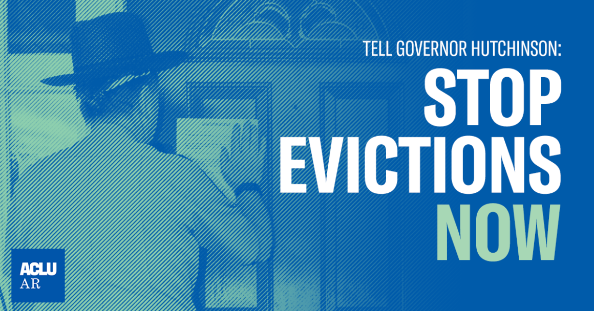 Tell Governor Hutchinson: Stop Evictions Now