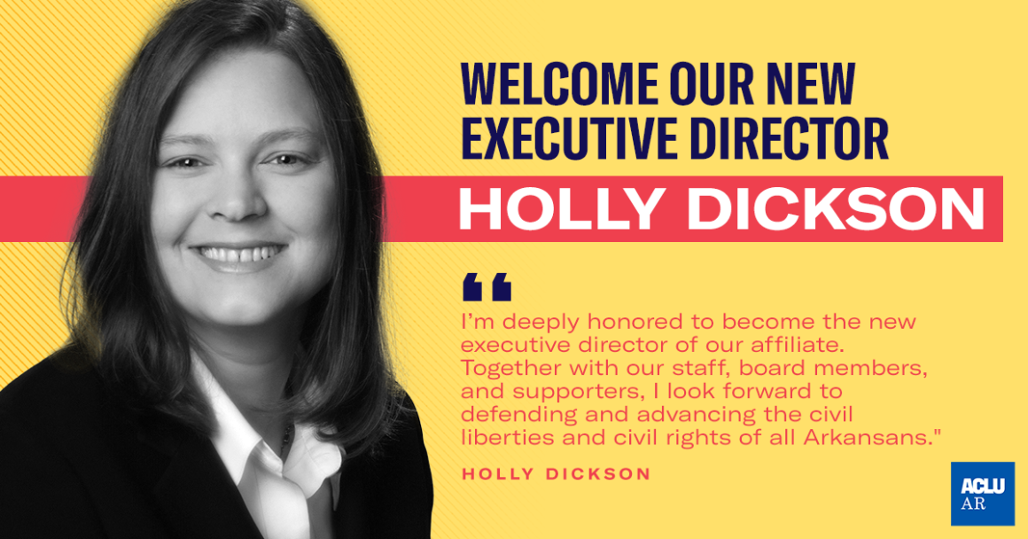 Welcome our New Executive Director Holly Dickson